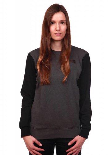 WDN   Patch Sweatshirt   GreyBlack