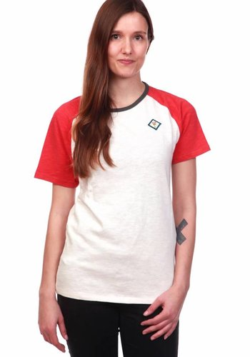 WDN | Classic Red T-Shirt | WhiteRed