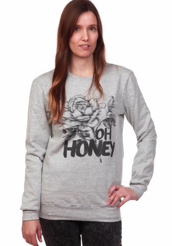 Costalamel I Oh Honey Pullover I Grau
