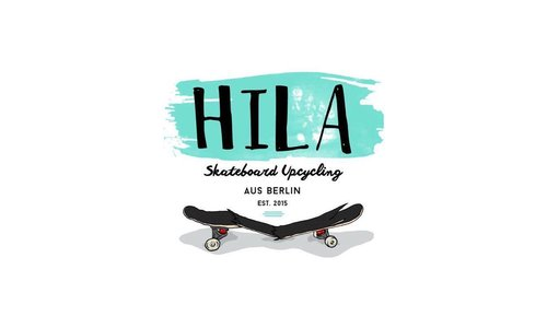 HILA Skateboard Upcycling