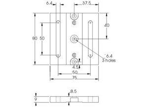 Eksma optics Movable base 820-0090