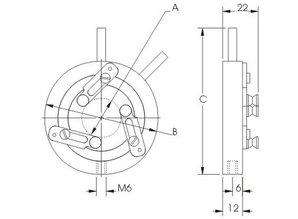 Eksma optics Self centring lens Mounts 830-0010