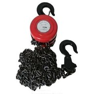 Hofftech Ketingtakel 1 Ton Kettingtakel, capaciteit 1 Ton, met veiligheidshaak.