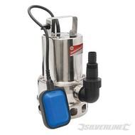 Silverline 550 W roestvrijstalen dompelpomp, vuil waterDe 550 W dompelpomp