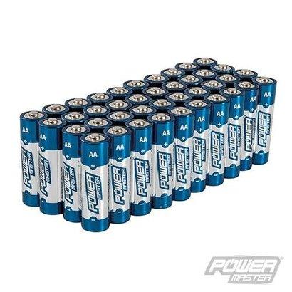 Silverline AA super alkaline batterij LR6, 40 pk.