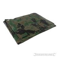 Silverline Camouflage dekzeil