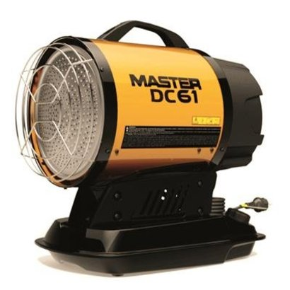Master Climate Solutions MASTER HEATER DC61 Akku mit Ladegerät und Akku