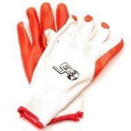 Werkhandschoen oranje maat 10