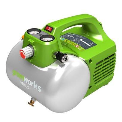 Greenworks 230 Volt Batteriekompressor GAC6L