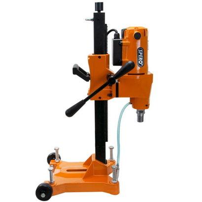 Spero tools Diamantbohrmaschine auf einem Stativ