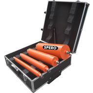 Spero tools Diamond drill set A - 35, 51, 81 & 131 mm