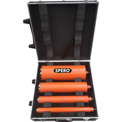Spero tools Diamantboren set A - 35 , 51, 81 & 131 mm