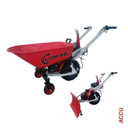 Lumag Accu kruiwagen en sneeuwschuif EKS80PRO
