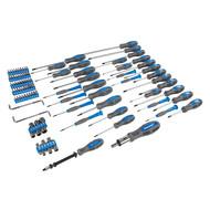 Silverline 100-piece screwdriver set