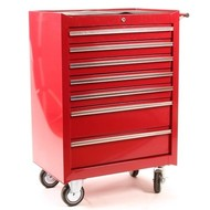 Nize Tool trolley 7 drawers red
