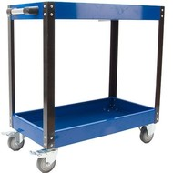 Tool trolley open 2 layers