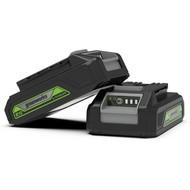 Greenworks 24 Volt 2,0 Ah Batterie G24B2