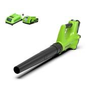 Greenworks 24 Volt Battery Leaf Blower G24ABK2
