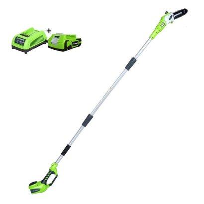 Greenworks 24 Volt Accu Takkenzaag G24PS20K2