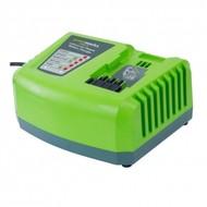 Greenworks 40 Volt Batterie Schnellladegerät G40UC4