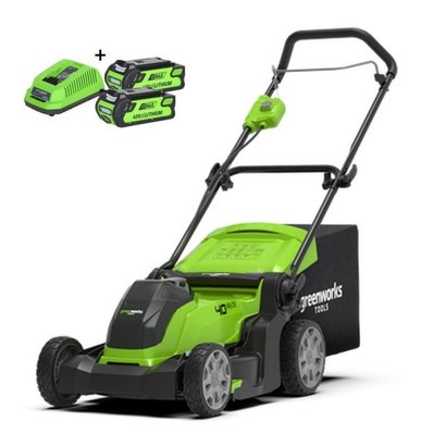 Greenworks 40 Volt Akku-Mäher G40LM41K2X