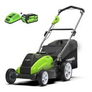 Greenworks 40 Volt Akku-Mäher G40LM45K4