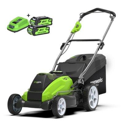 Greenworks 40 Volt Accu Maaier G40LM45K2X