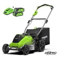 Greenworks 40 Volt Cordless Mower GD40LM45K2X