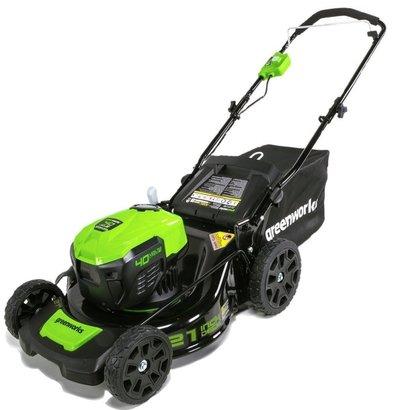 Greenworks 40 Volt Akku-Rasenmäher GD40LM46SP