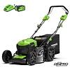 Greenworks 40 Volt accu grasmaaier GD40LM46SPK6