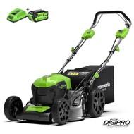 Greenworks 40 Volt cordless lawn mower GD40LM46SPK6