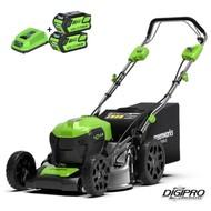 Greenworks 40 Volt cordless lawn mower GD40LM46SPK4-6