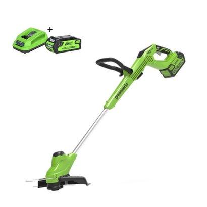 Greenworks 40 Volt Akku-Trimmer und Kantenschneider G40T5K2