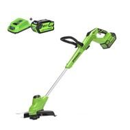 Greenworks 40 Volt Cordless Trimmer and Edge Cutter G40T5K4