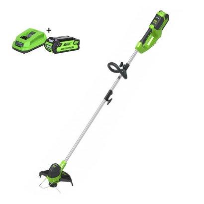 Greenworks 40 Volt Akku-Trimmer und Kantenschneider G40LTK2