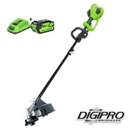 Greenworks 40 Volt Cordless Trimmer and Brushcutter GD40BCK4