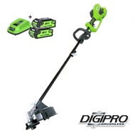 Greenworks 40 Volt Cordless Trimmer and Brushcutter GD40BCK2X