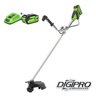 Greenworks 40 Volt Cordless Trimmer and Brushcutter GD40BCBK4