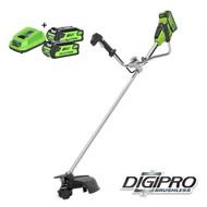 Greenworks 40 Volt Cordless Trimmer and Brushcutter GD40BCBK2X