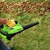 Greenworks 40 Volt Akku-Laubbläser G40ABK4