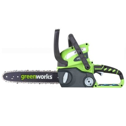 Greenworks 40 Volt Akku-Kettensäge G40CS30