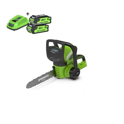 Greenworks 40 Volt Accu Kettingzaag G40CS30K2X