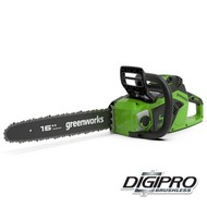 Greenworks 40 Volt Akku-Kettensäge GD40CS18