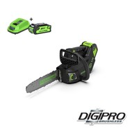 Greenworks 40 Volt Cordless Top Handle Chainsaw GD40TCSK2