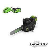 Greenworks 40 Volt Cordless Top Handle Chainsaw GD40TCSK4