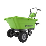 greenworks 40 Volt Cordless Wheelbarrow G40GC