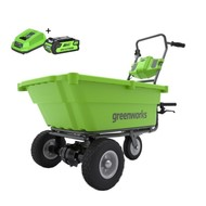 greenworks 40 Volt Cordless Wheelbarrow G40GCK2