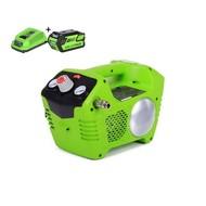 greenworks 40 Volt Battery Compressor G40ACK 4