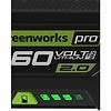 Greenworks 60 Volt Lithium-Ionen-Akku G60B2