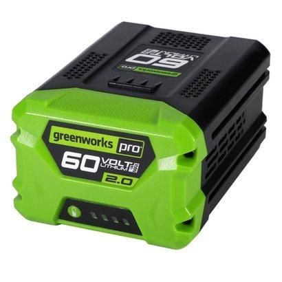 Greenworks 60 Volt Lithium Ion-accu G60B2  2.0Ah